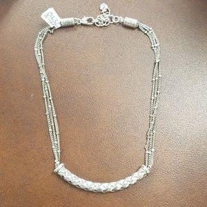 Brighton Woven Bar Necklace